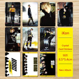 iKON Bling Bling Photo Card Stickers