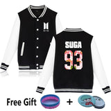 BTS Letterman Knit Jacket