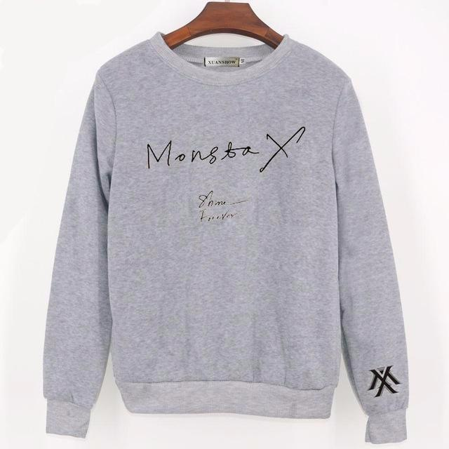 MONSTA X Shine Forever Pullover Sweater – Jaem in Seoul c5bfd1f7ea0a