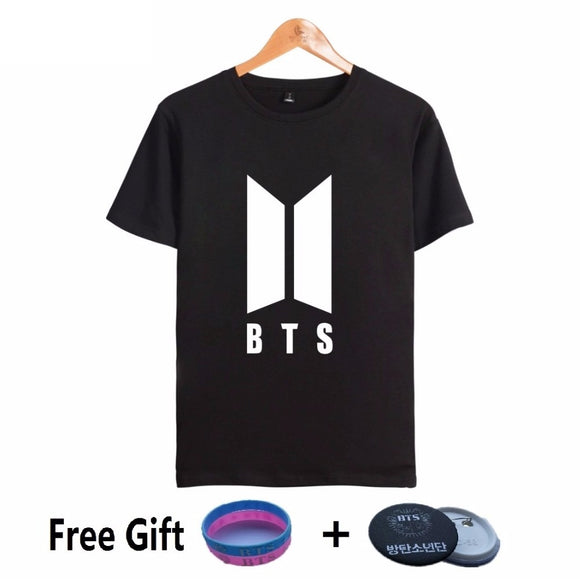 New BTS Logo Short Sleeve