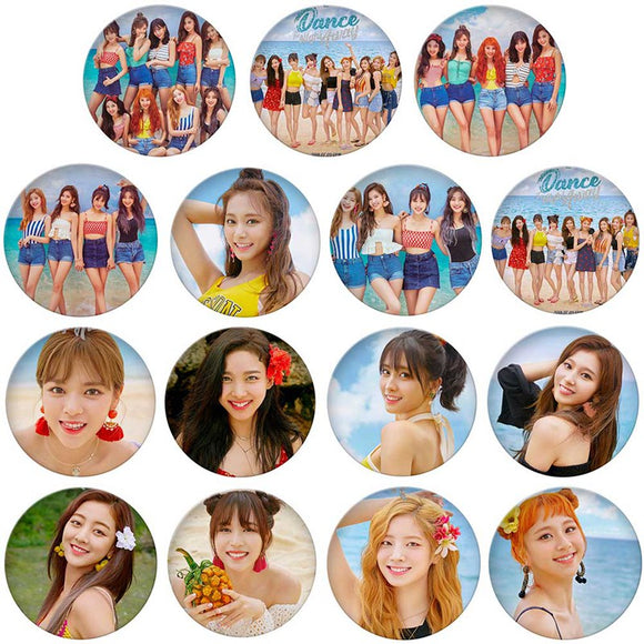 TWICE Dance The Night Away Pinback Button