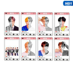 BTS Love Yourself Answer Transparent Cards
