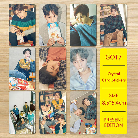 GOT7 PRESENT EDITION 7 FOR 7 PVC Card Stickers