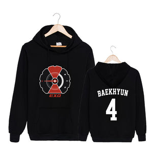 EXO DON'T MESS UP MY TEMPO Pullover Hoodie