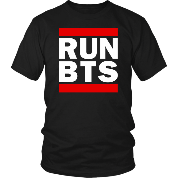 RUN BTS T-shirt