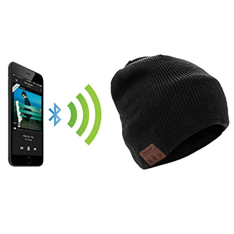 Wireless Bluetooth Earphone Music Beanie Music Hat  with Mic Sport Knitted - Unisex