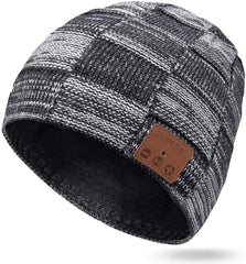 Unisex Bluetooth Beanie Hat with Mic
