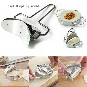 DIY Stainless Steel Dumpling Mold 2pcs/set