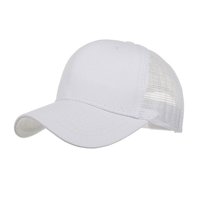 Hat with Breathable Mesh  Adjustable  Sports Cap for Men and Women