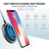 Fast Wireless Charger For iPhone X 8 plus,Samsung Galaxy Note 8 S8 S7 edge S6 Qi-Enabled Devices