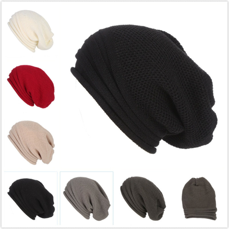 Winter Wool Knit  Ski Beanie  for Men and Women