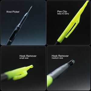 SAMSFX Line Knot Picker and Large Hook Disgorger Rig Needle Fly Fishing Tools - SAMSFX