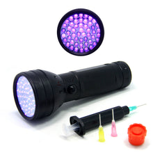 Load image into Gallery viewer, SAMS 51 LEDs Fly Tying UV Flashlight Light and Clear Cure Glue Syringe Dispenser - SAMSFX