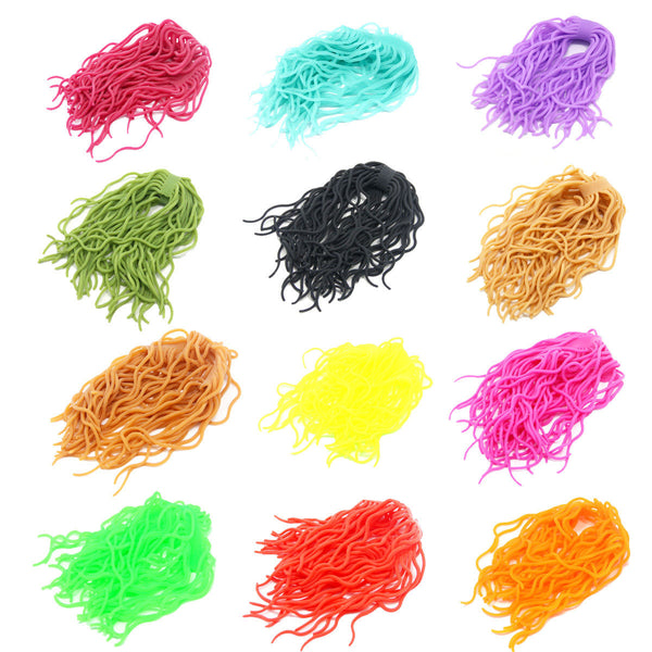 Squirmy Wormy Fly Tying Materials Worm Body Trout Flies Streamers Assortment - SAMSFX