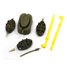 Load image into Gallery viewer, Carp Fishing Inline Method Feeders and Mould set and Loop Tyer Hook Detacher - SAMSFX