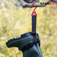 Load image into Gallery viewer, SAMSFX Fishing Wader Boot Hanger Strap Belt for Drying Wader Rack Storage