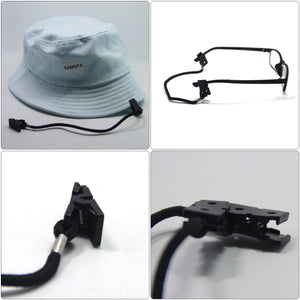 SAMSFX 3pcs x Cap Eyewear Retainer Hat Windproof Clips - SAMSFX