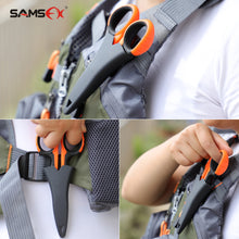 Load image into Gallery viewer, SAMSFX Fishing Heavy Duty Braid Scissors with Sheath - SAMSFX