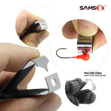 Load image into Gallery viewer, Black Fly Fishing Combo 5 in 1 Fishing tools set Forceps Zinger Nipper & Lanyard - SAMSFX