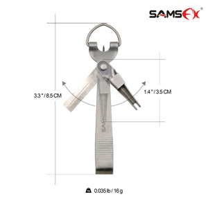 SAMSFX Quick Knot Tying Tool Fly Fishing Clippers Tie Fast Nail Knot Tyer Kit Drop Shipping - SAMSFX