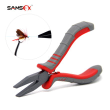Load image into Gallery viewer, SAMSFX Flat Nose Pliers Knot Puller and Fishing Hook Rigs Tying Tools - SAMSFX