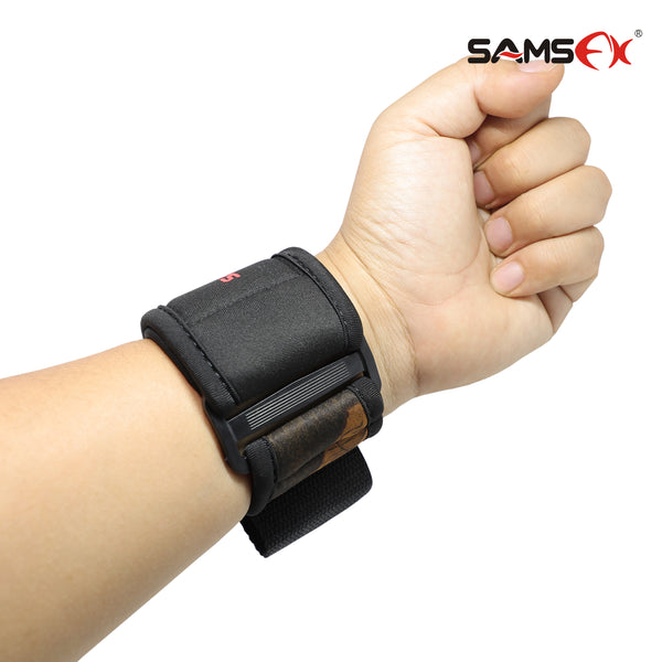 SAMSFX Fly Fishing Cast Aid Wrist Support Wrist Band Prevents Injury - SAMSFX