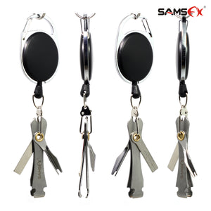 SAMSFX Fly Fishing Tool Trimmer Line Cutter Nippers Clipper Snip and Zinger Retractors Dropshipping - SAMSFX