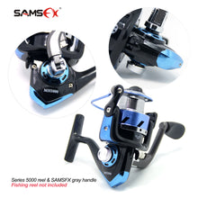 Load image into Gallery viewer, SAMSFX Folding Rotary Fishing Spinning Reel Handle Repair Parts Accessories - SAMSFX
