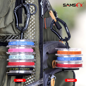 Fly Fishing Gear Tippet Holder for Line Leader Organizer