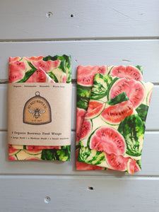 3 Pack Organic Watermelon Wraps