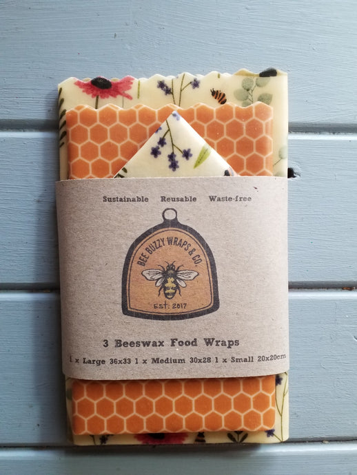 Limited Edition Floral Bee's 3 Pack