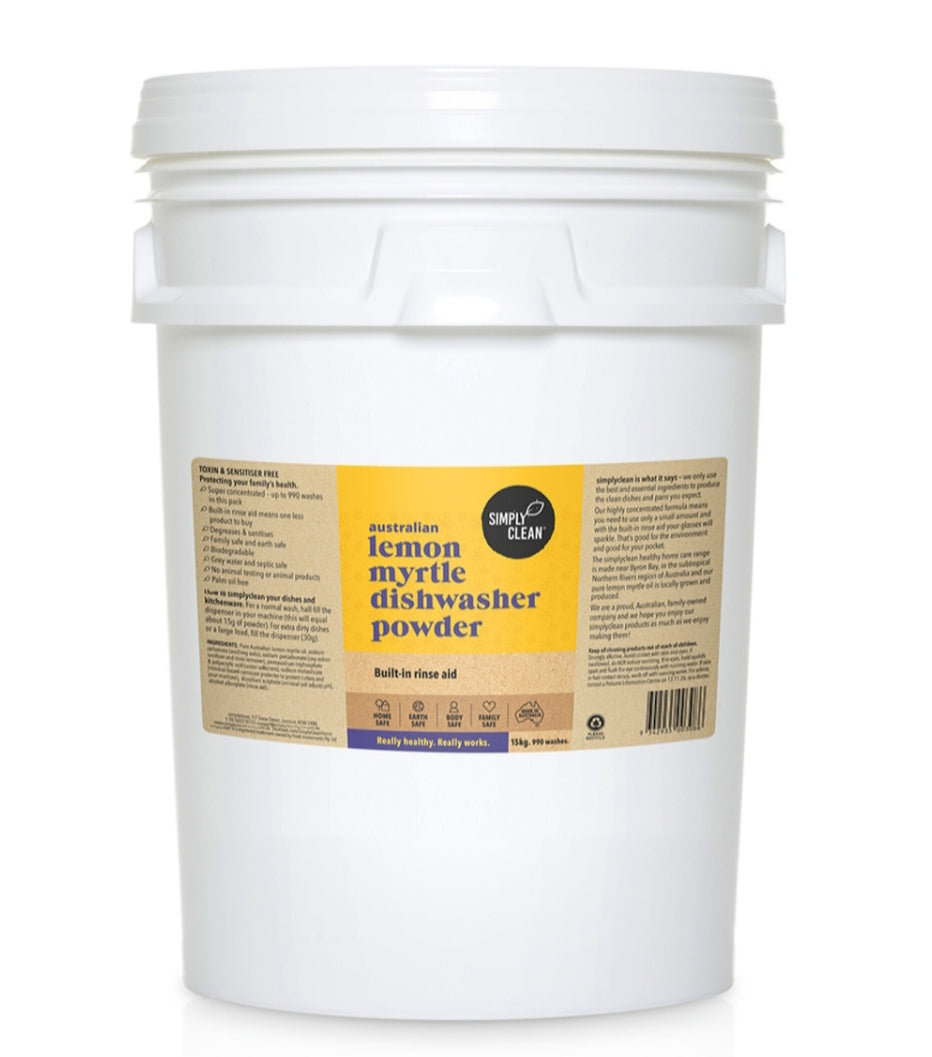 Simply Clean Lemon Myrtle Dishwasher Powder