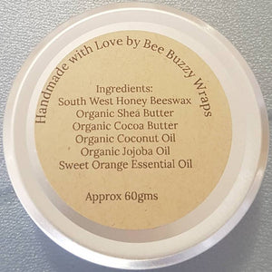Bee Buzzy Sweet Orange Lotion Bar