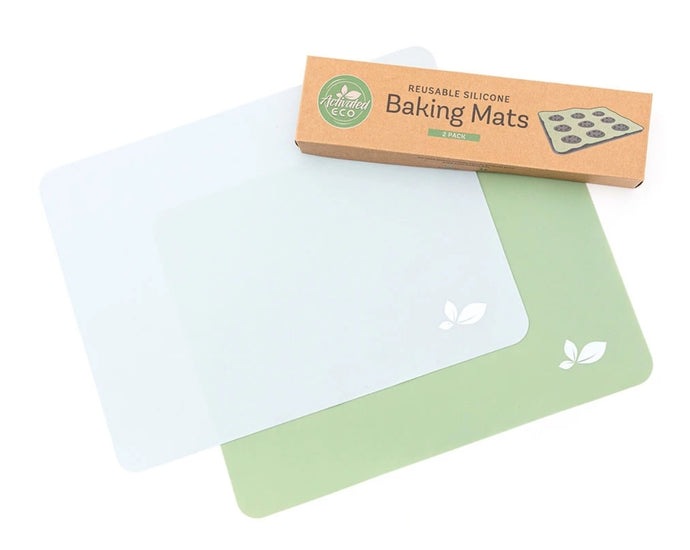 Activated Eco Reusable Silicone Baking Mats