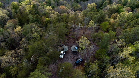 camping in the Ozark-St. Francis National Forest