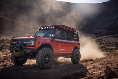 The Bronco has enough protection for any trail
