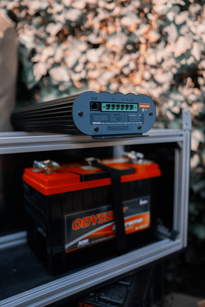 off grid battery bank charger
