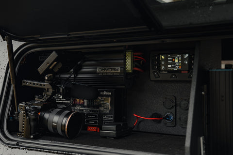 Roaming Lost's photography and videography setup