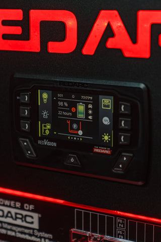 RedVision display inside the Tacoma