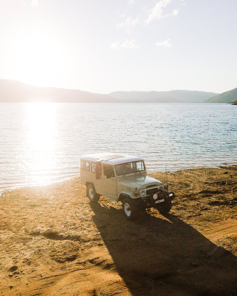 vintage landcruiser overland vehicle
