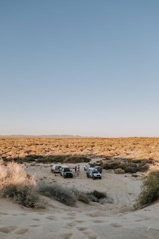 Desert Camping with Expedition Overland