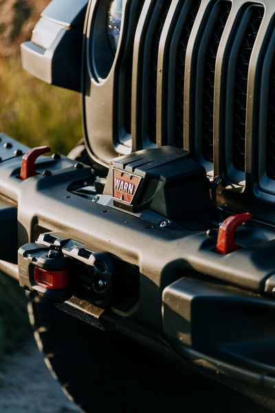 XO gladiator warn winch bar