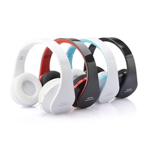 Pro Bluetooth HiFi MP3 Wireless Headphones w/Professional Cool Multifunction Headset - MHNInc Store