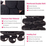 Peruvian Virgin Body Wave With 3 Bundle deal