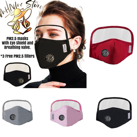 PM2.5 Mask With Shield