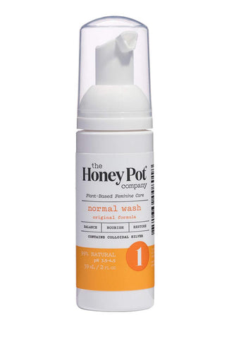 THE HONEY POT CLEANSE FOAMING INTIMATE WASHS 5.51 OZ.