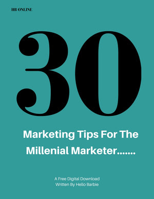 30 Marketing Tips For The Millennial Marketer