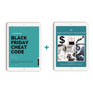 Online Marketing Guide + Black Friday Cheat Code Bundle Deal