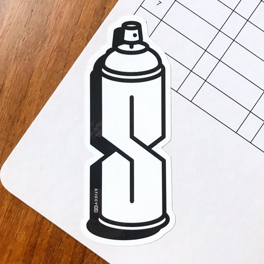 Spray Sticker