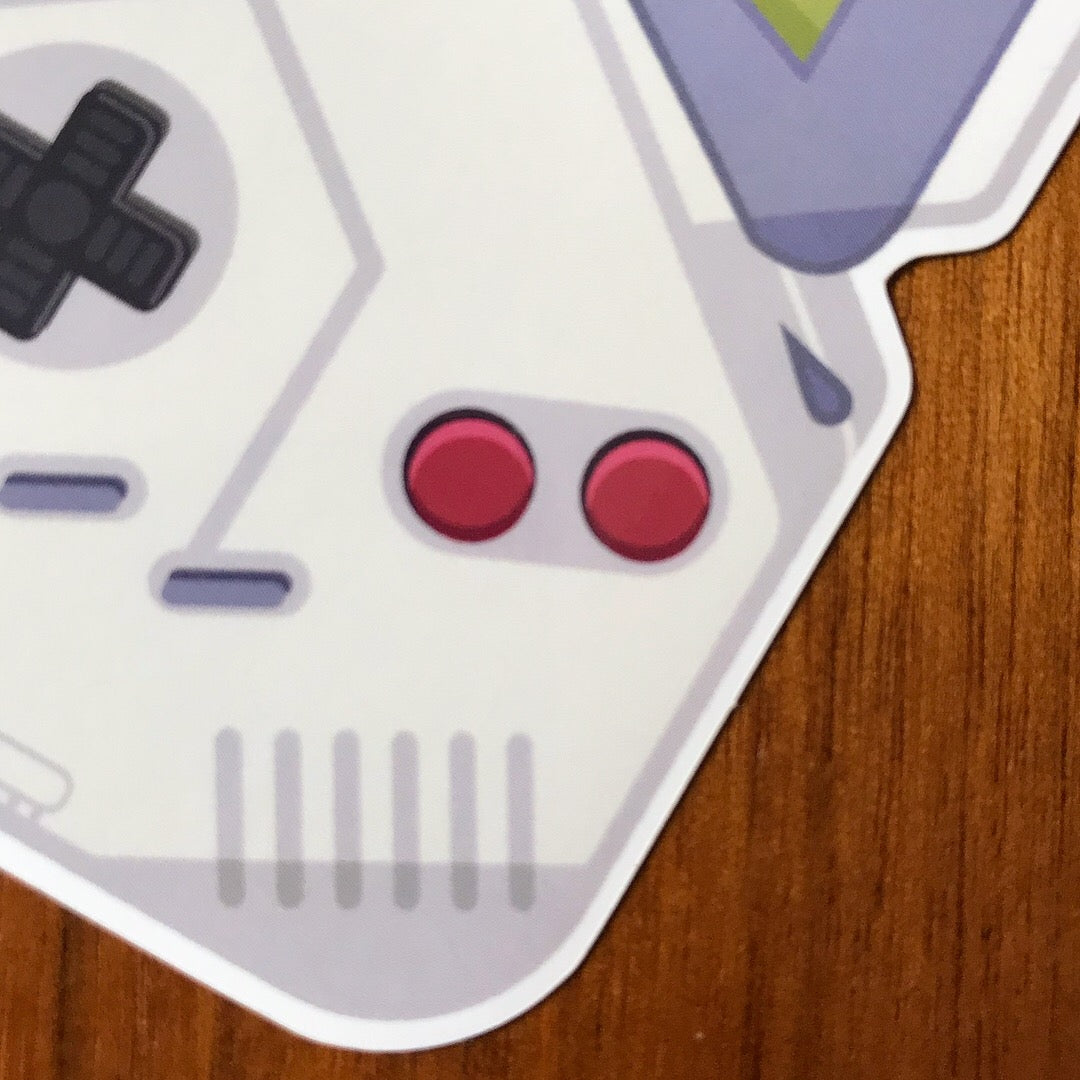 Gameboy Sticker